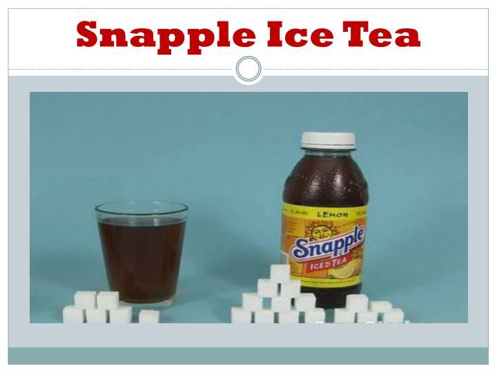 Snapple Ice Tea