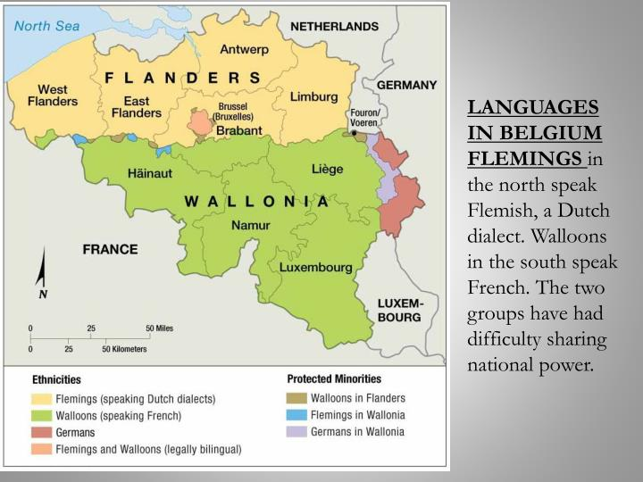 LANGUAGES IN BELGIUM FLEMINGS