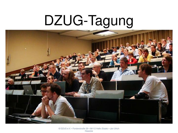 DZUG-Tagung