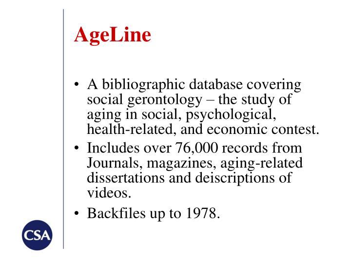 AgeLine