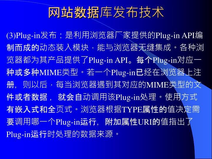 网站数据库发布技术