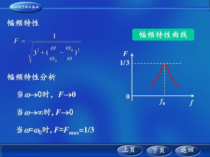幅频特性曲线