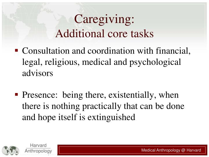 Caregiving: