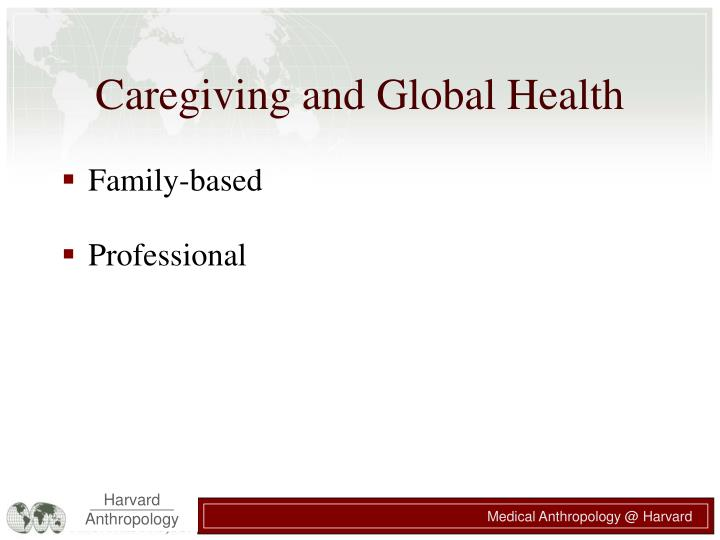 Caregiving and global health