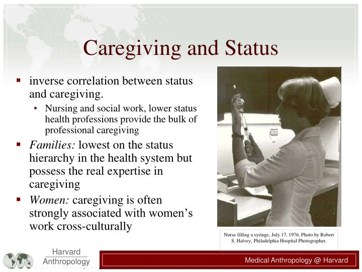 Caregiving and Status