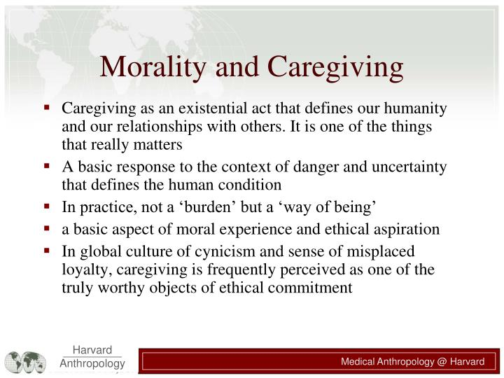 Morality and Caregiving