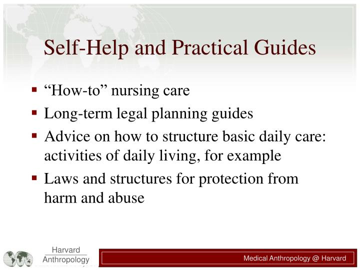 Self-Help and Practical Guides