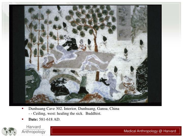 Dunhuang Cave 302. Interior, Dunhuang, Gansu, China