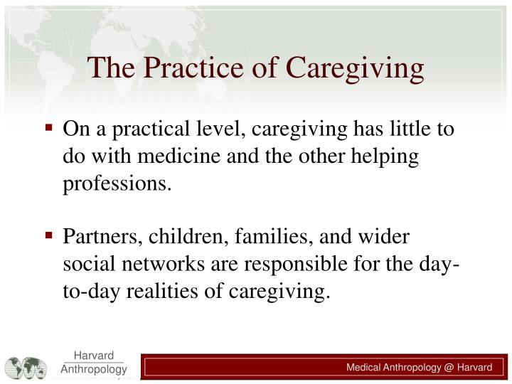 The Practice of Caregiving