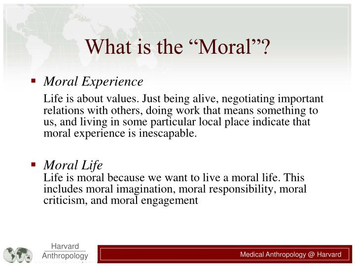 "What is the ""Moral""?"