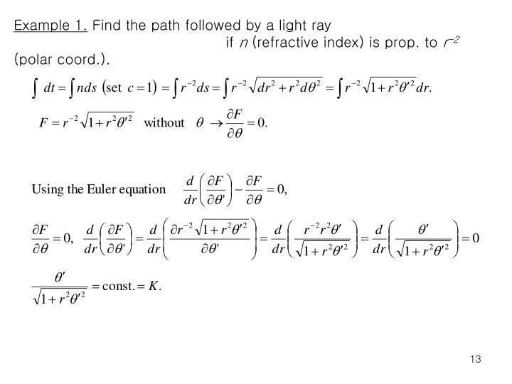 Example 1.