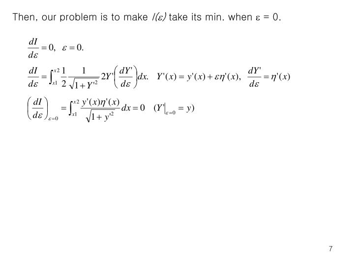 Then, our problem is to make