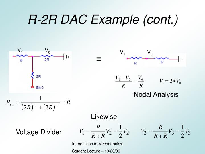 R-2R DAC Example (cont.)