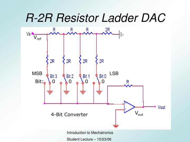 R-2R Resistor Ladder DAC
