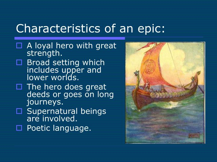qualities of an epic hero Searching for what are the characteristics of a epic hero essays find free what are the characteristics of a epic hero essays, term papers, research papers.