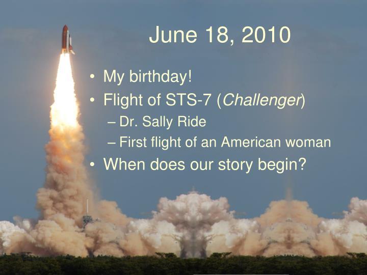 June 18, 2010