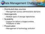 data management challenges