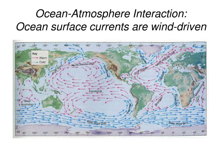 Ocean-Atmosphere Interaction:
