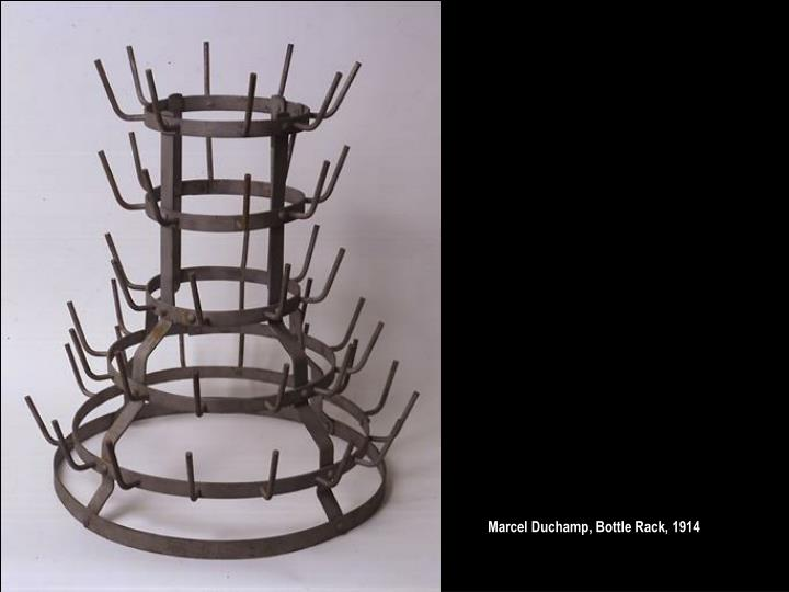 Marcel Duchamp, Bottle Rack, 1914