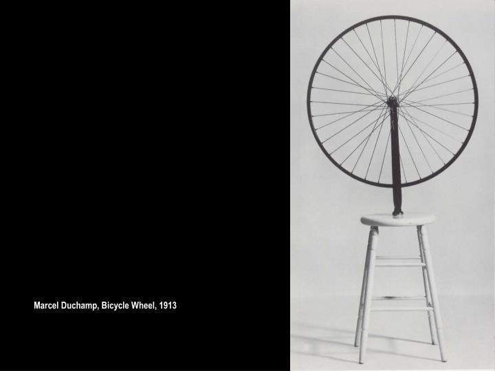 Marcel Duchamp, Bicycle Wheel, 1913