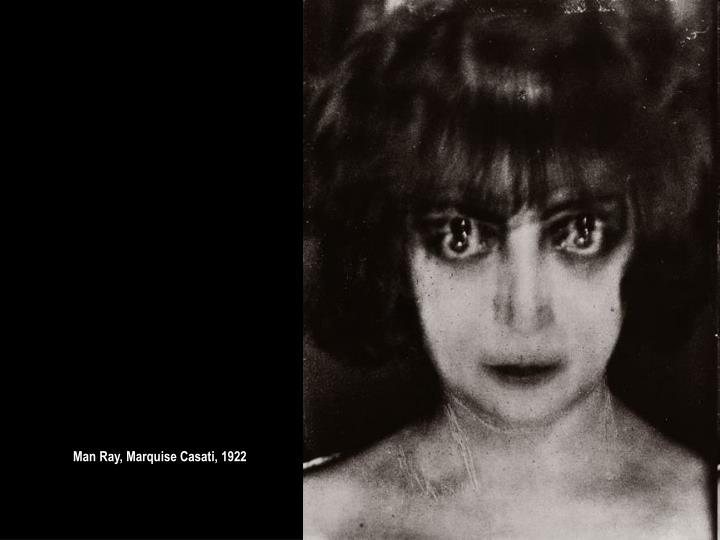 Man Ray, Marquise Casati, 1922