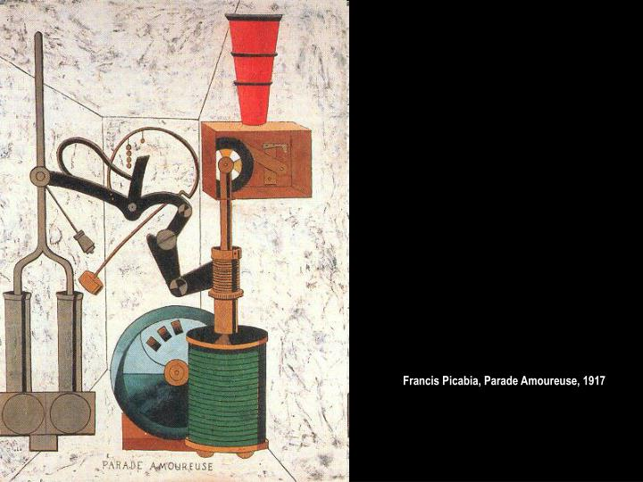 Francis Picabia, Parade Amoureuse, 1917