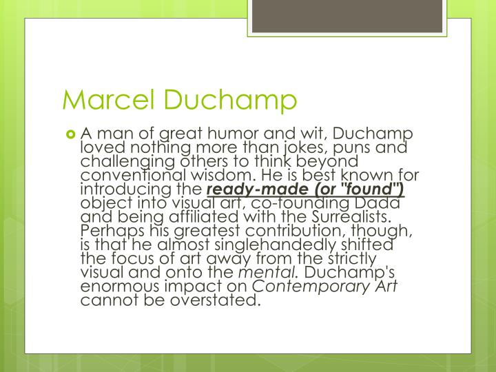 MarcelDuchamp