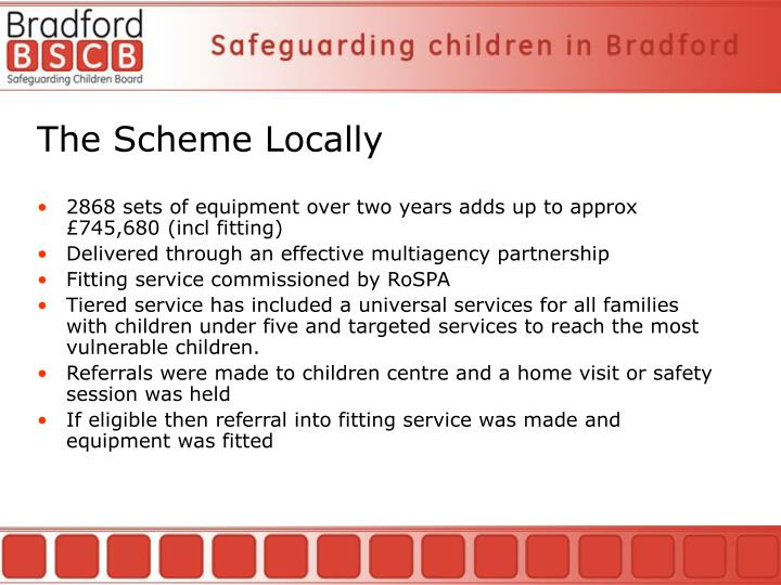 The Scheme Locally