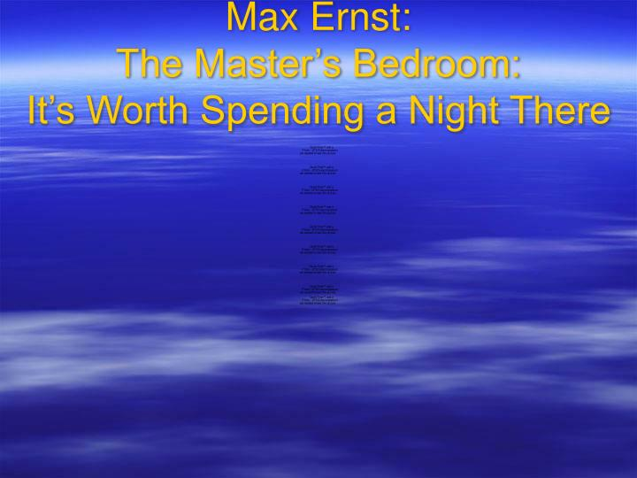 Max Ernst:
