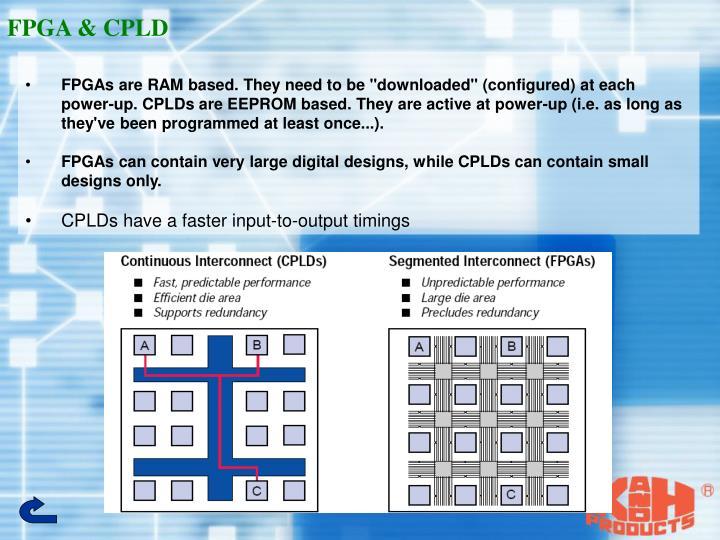 FPGA & CPLD
