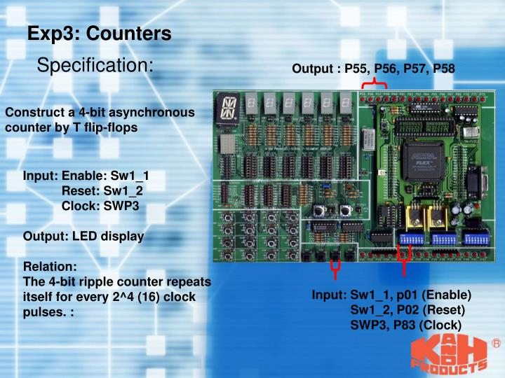 Exp3: Counters