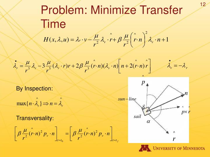 Problem: Minimize Transfer Time