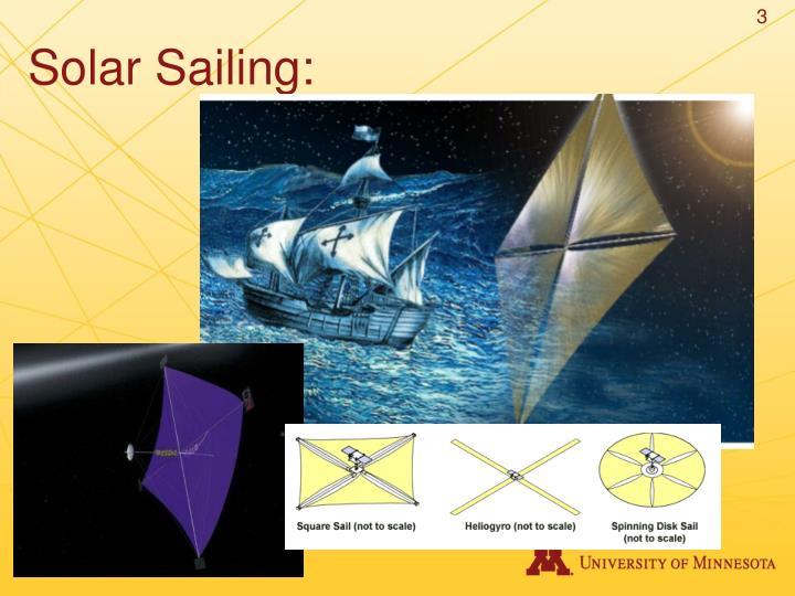 Solar Sailing: