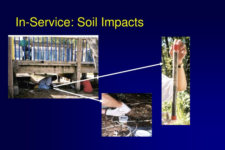 In-Service: Soil Impacts