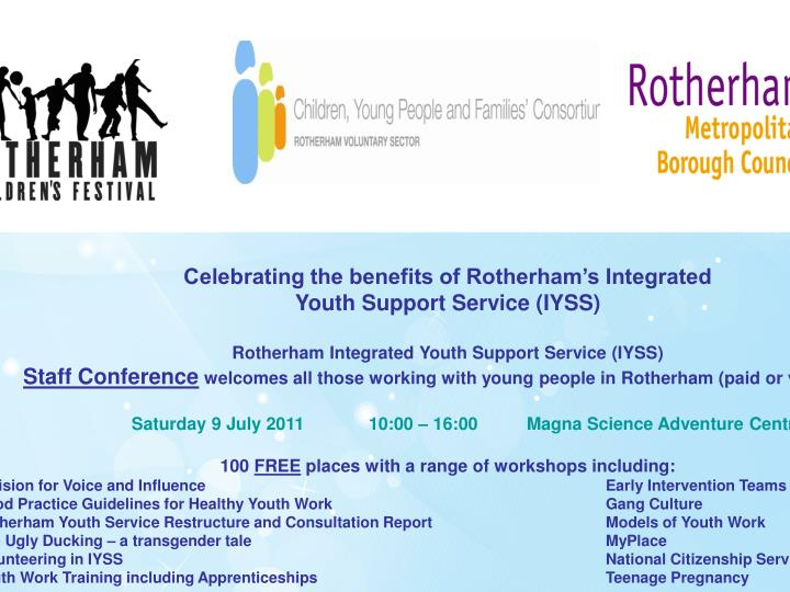 Celebrating the benefits of Rotherham's Integrated