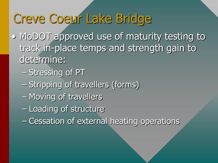 Creve Coeur Lake Bridge