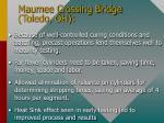 maumee crossing bridge toledo oh