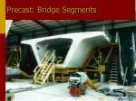 precast bridge segments