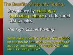 the benefits of maturity testing3