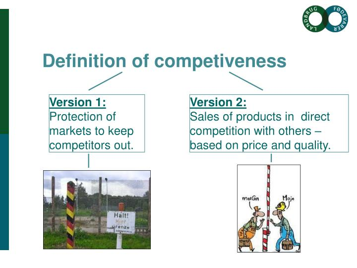 Definition of competiveness