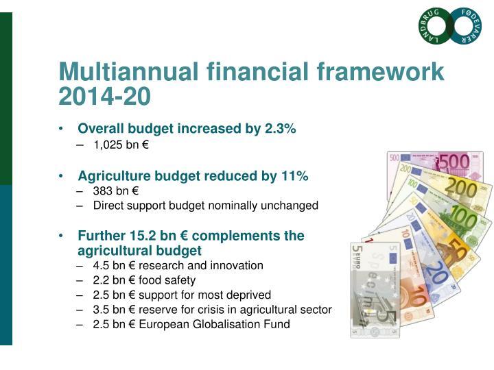 Multiannual financial framework 2014-20