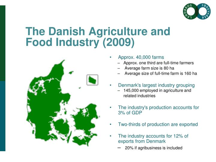 The Danish Agriculture and