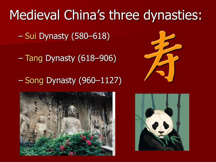 tang dynasty vs song dynasty Finally, after three and a half centuries of great turmoil, the empire finally reconvenes—first during the short-lived sui dynasty, then the more famous and enduring tang dynasty.