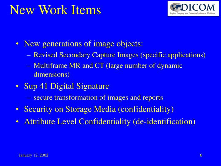 New generations of image objects