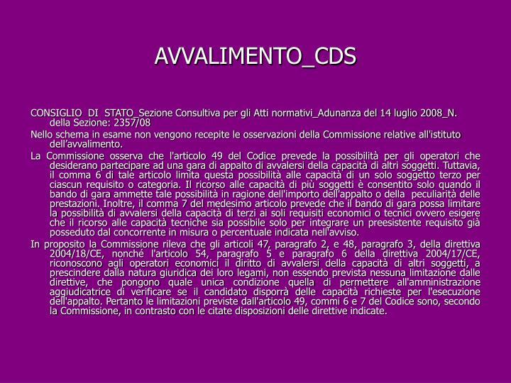 AVVALIMENTO_CDS