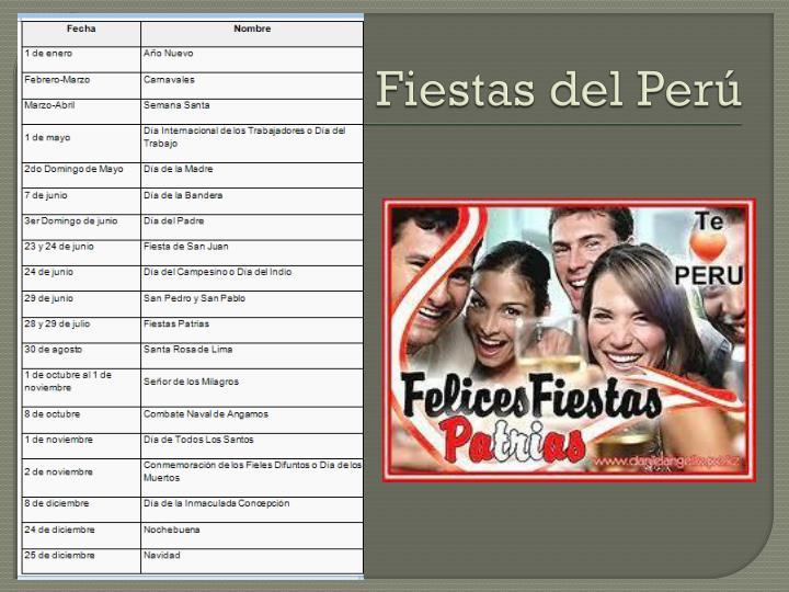 Fiestas del Perú