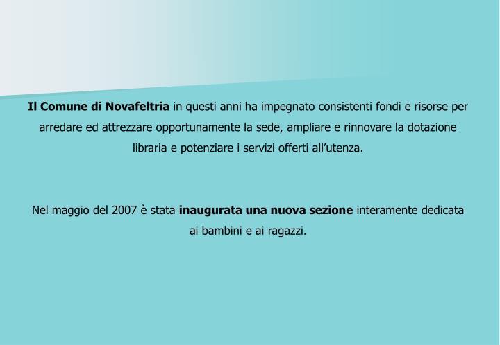 Il Comune di Novafeltria