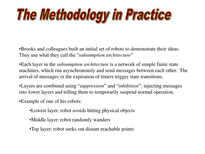 The Methodology in Practice