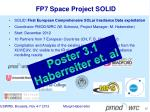 fp7 space project solid