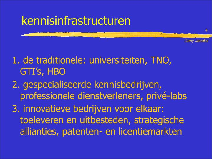 kennisinfrastructuren